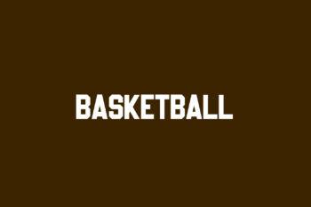 Basketball Free Font