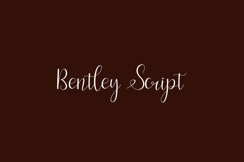 Bentley Script