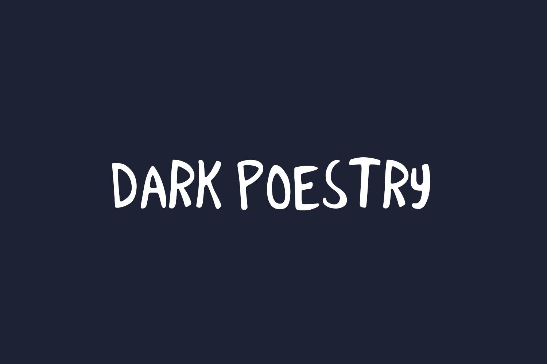 Dark Poestry