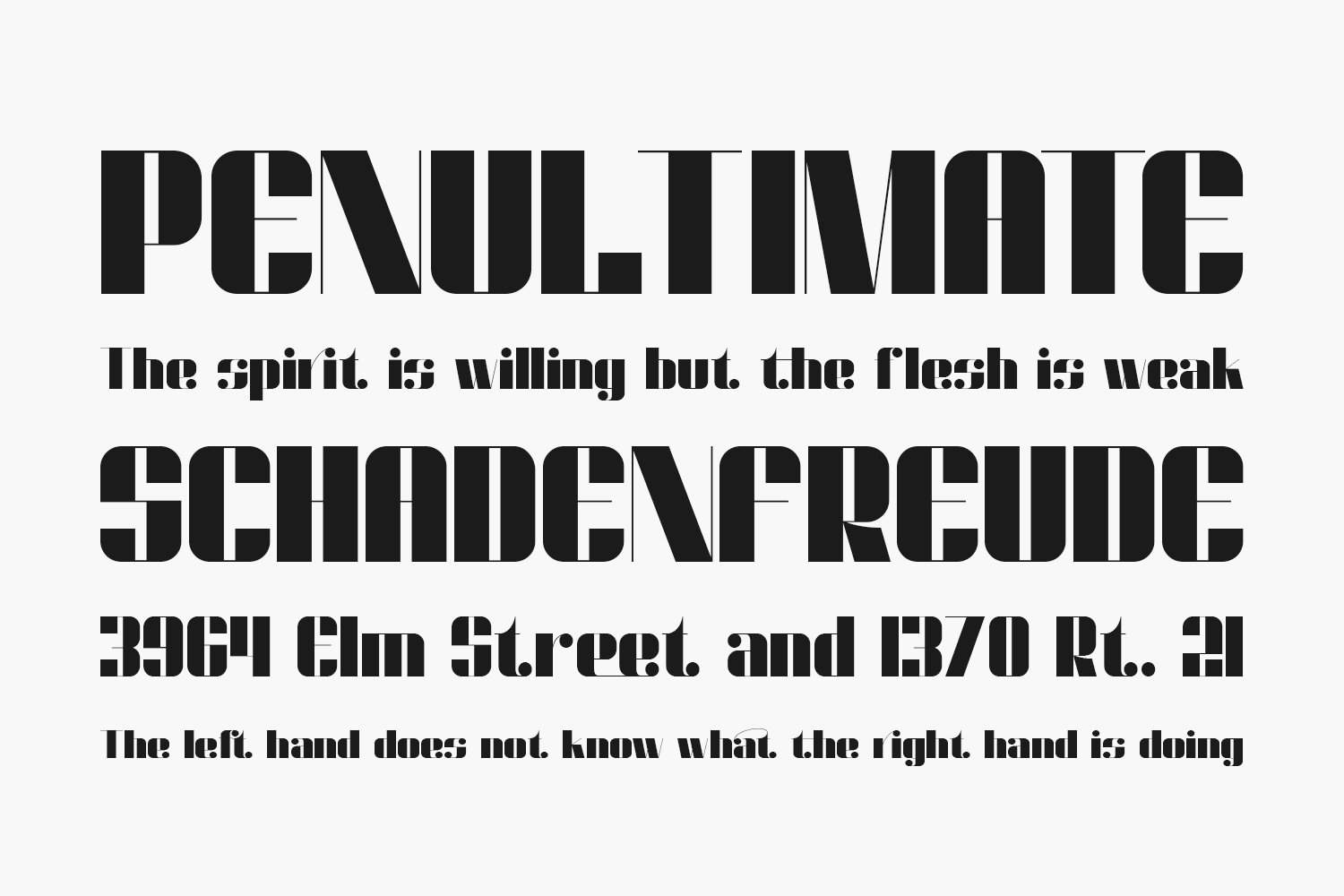 Dunford Moore Free Font