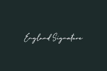 England Signature