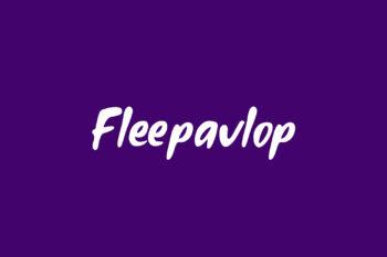Fleepavlop Free Font