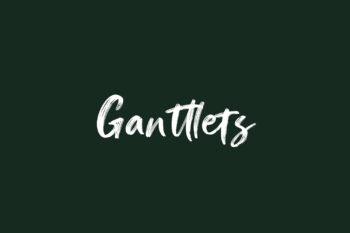 Ganttlets Free Font