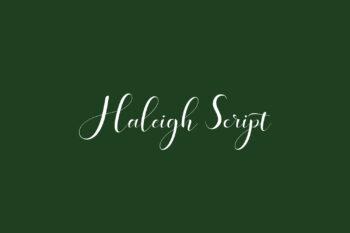 Haleigh Script