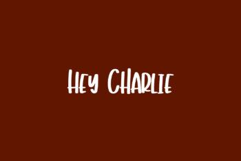 Hey Charlie