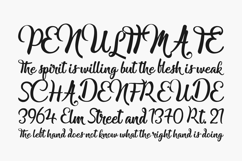 Lady Finger Free Font