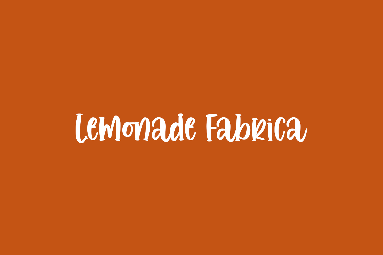 Lemonade Fabrica