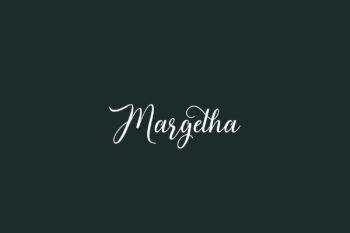 Margetha Free Font
