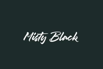 Misty Black