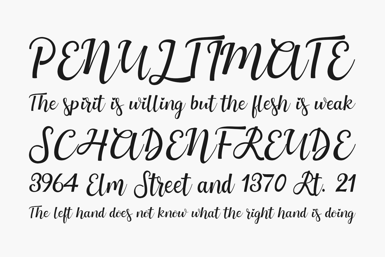 Mothius Free Font