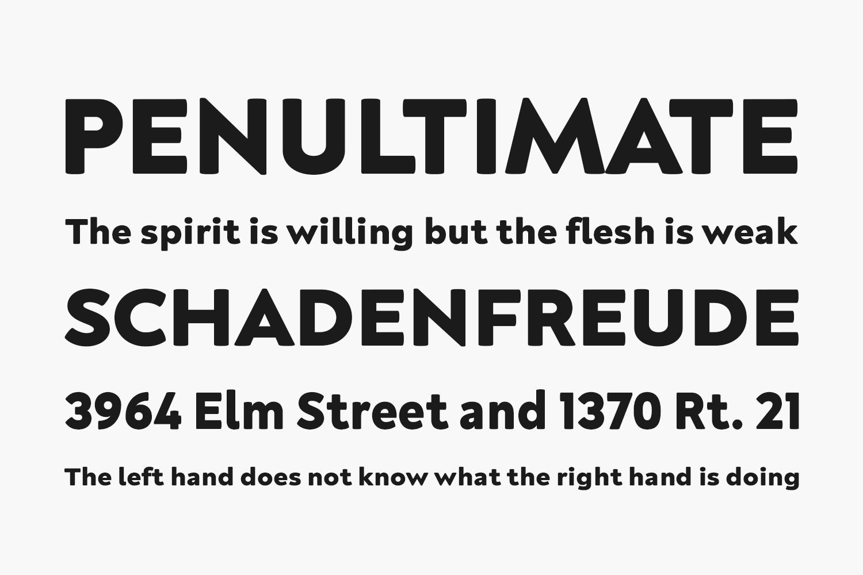 Neufreit Free Font