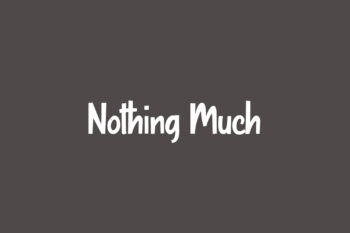 Nothing Much