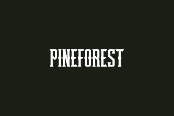 Pineforest Free Font