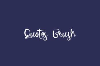 Quotes Brush
