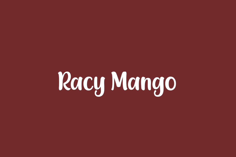 Racy Mango