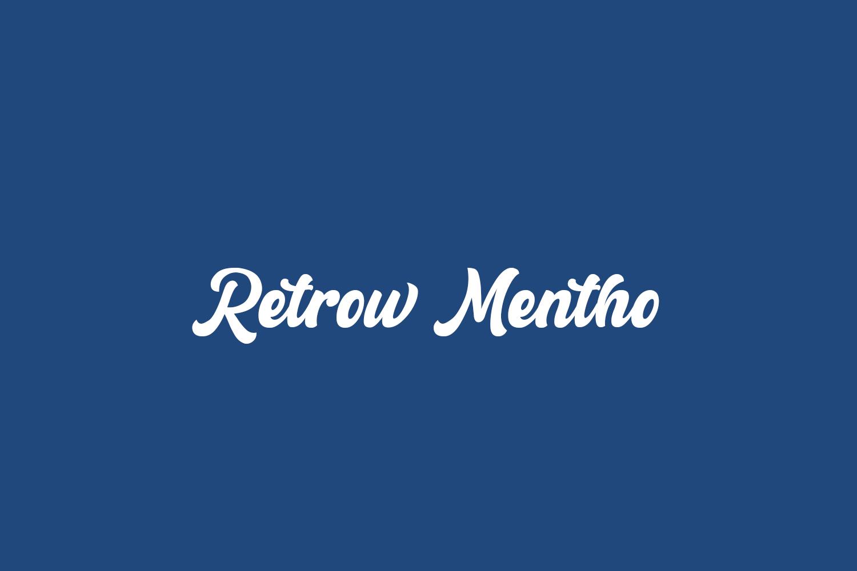 Retrow Mentho