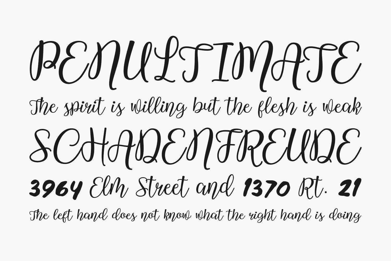 Westline Script Free Font