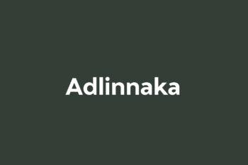 Adlinnaka Free Font