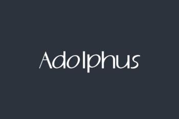 Adolphus Free Font