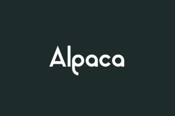 Alpaca Free Font