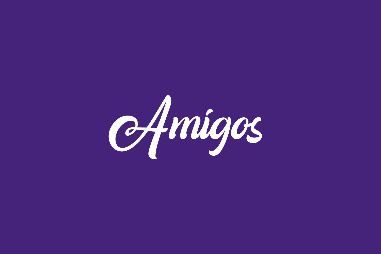 Amigos Free Font