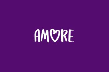 Amore Free Font