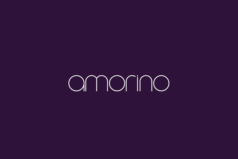 Amorino Free Font