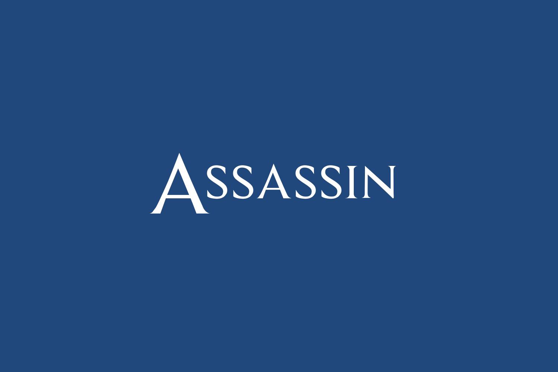 Assassin Free Font