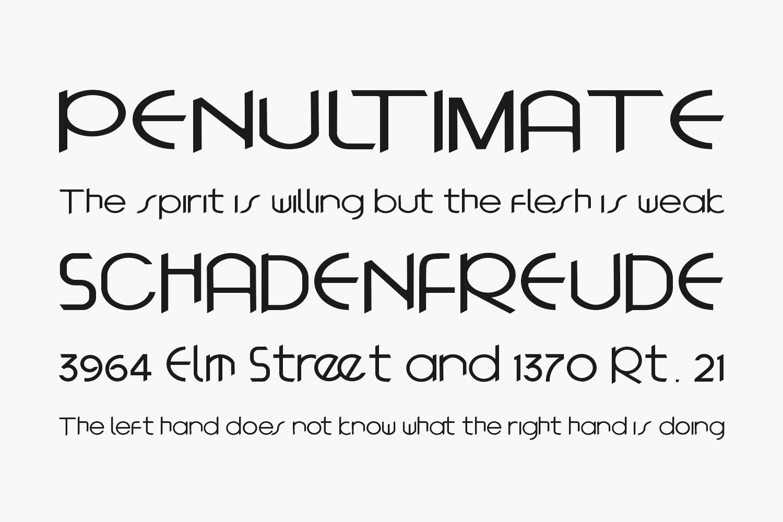 Autologo Free Font
