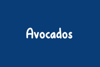 Avocados Free Font
