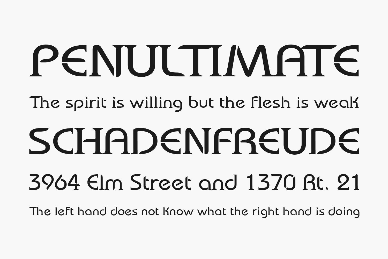 Bauserif Free Font