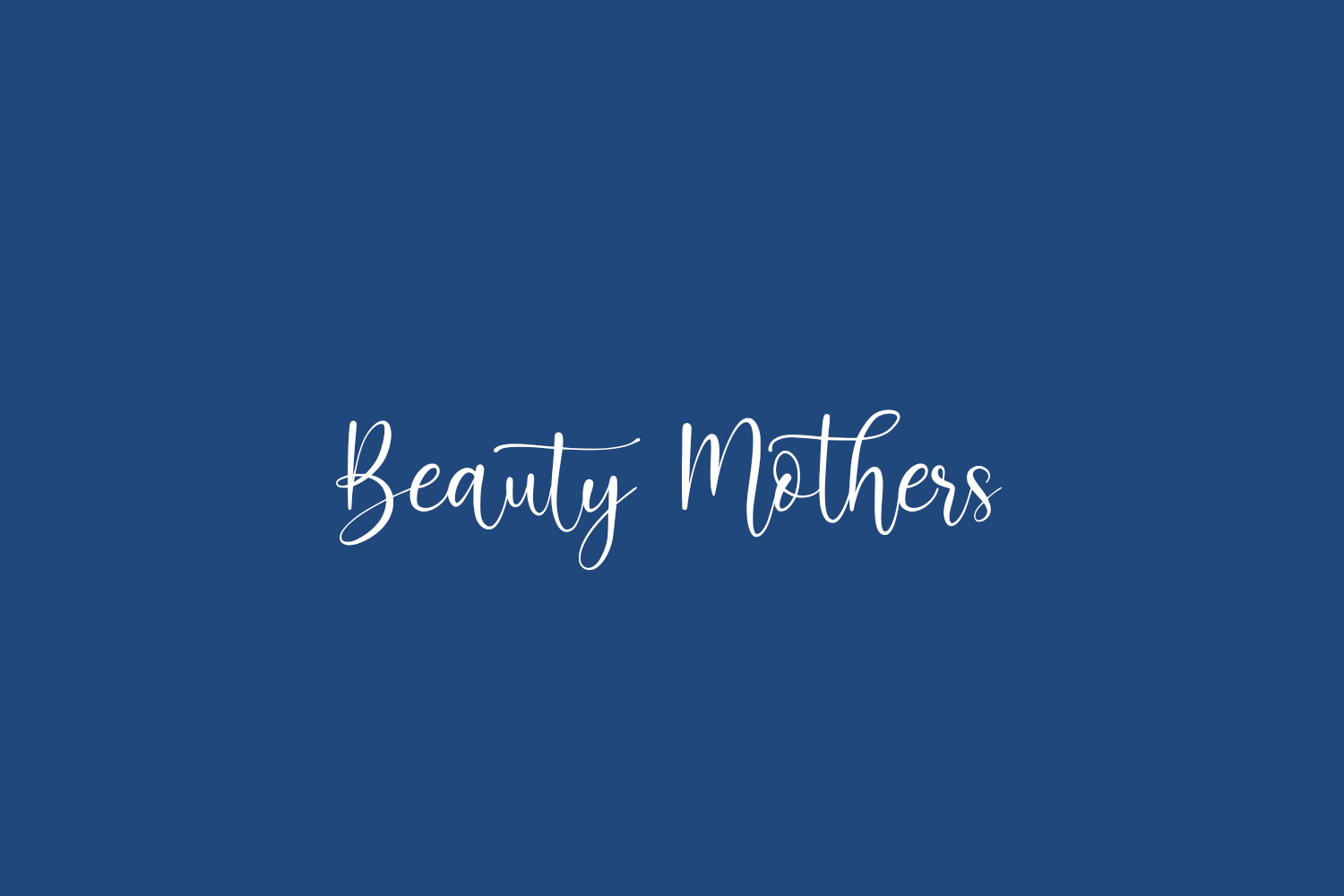 Beauty Mothers Free Font