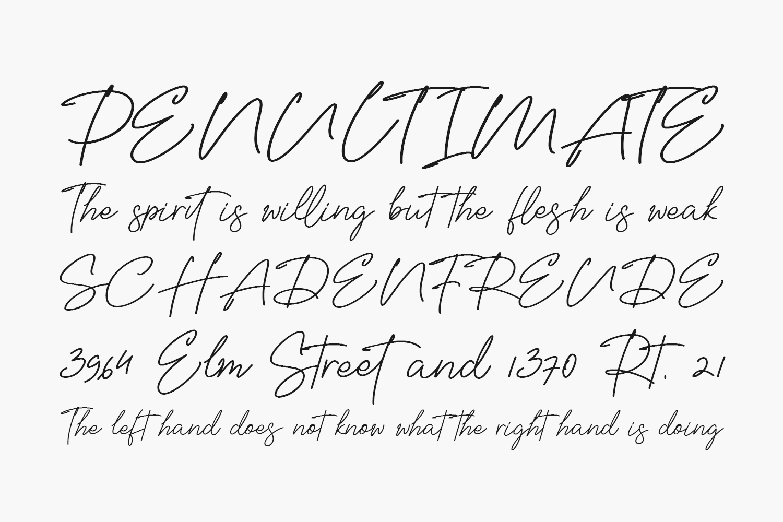 Bellisya Signature Free Font