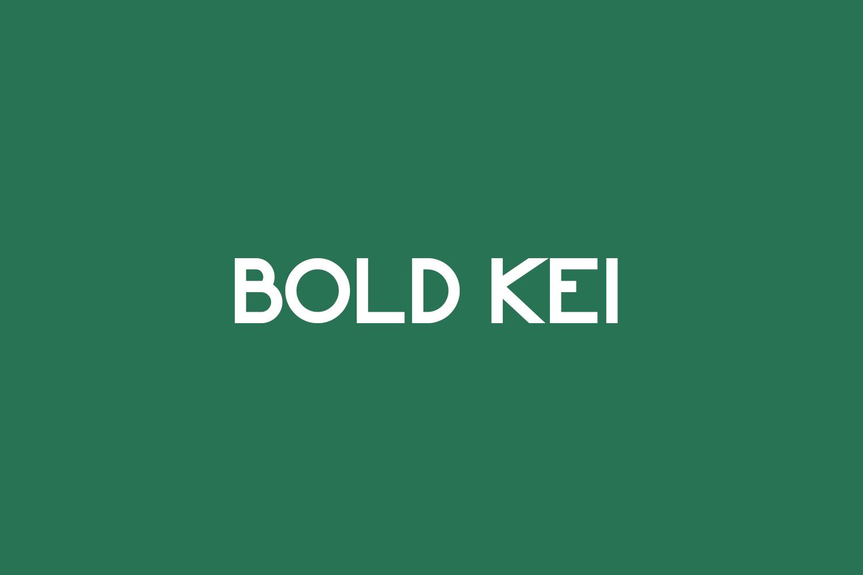 Bold Kei Free Font