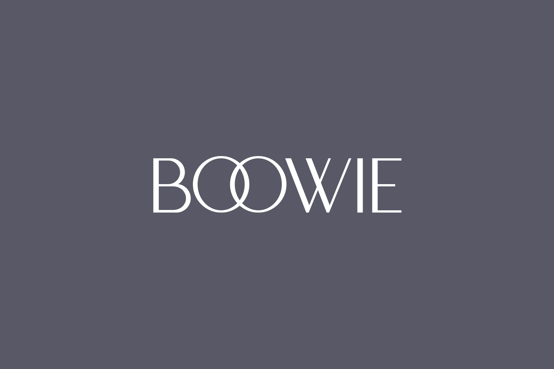 Boowie Free Font