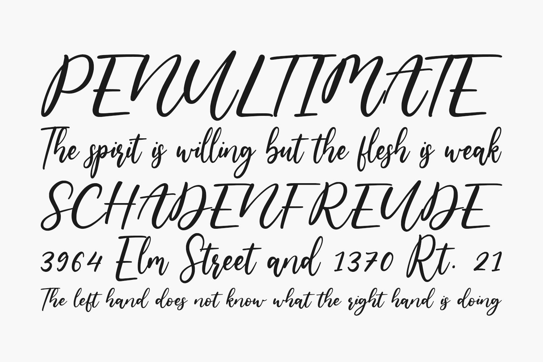 Bowhead Free Font