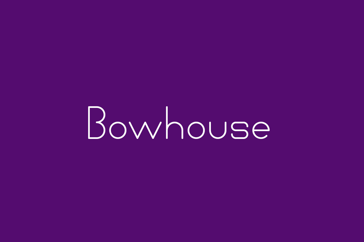 Bowhouse Free Font