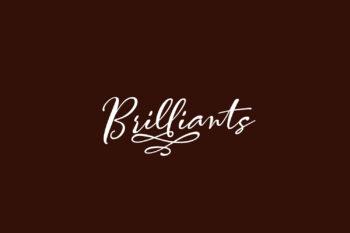 Brilliants Free Font