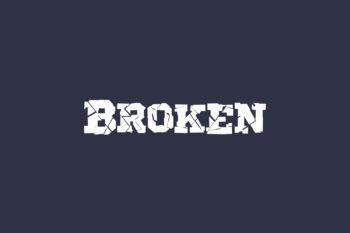 Broken Free Font