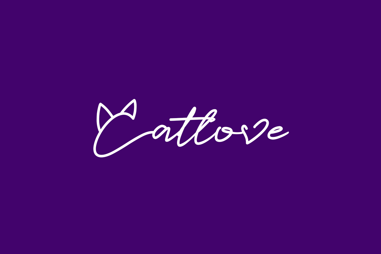 Catlove Free Font