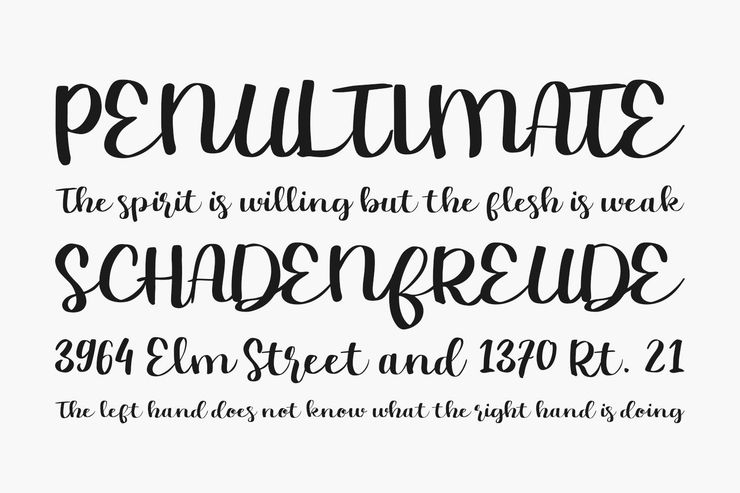 Chasy Free Font