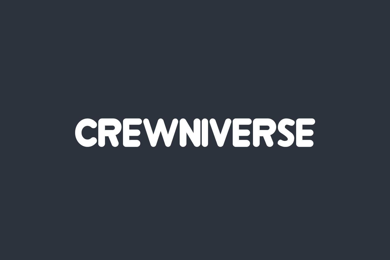 Crewniverse Free Font