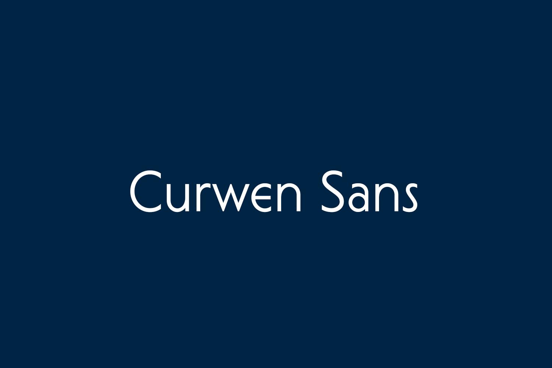 Curwen Sans Free Font