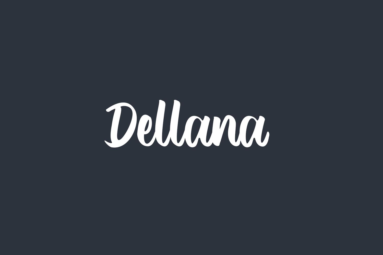 Dellana Free Font