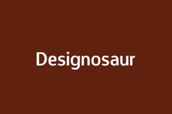 Designosaur Free Font