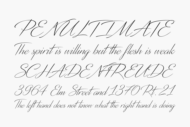 Distant Stroke Free Font