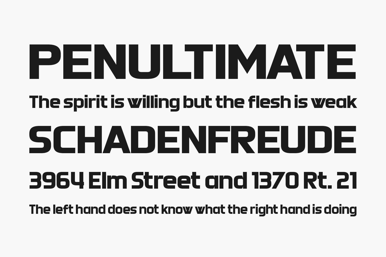 Doubleplus Free Font