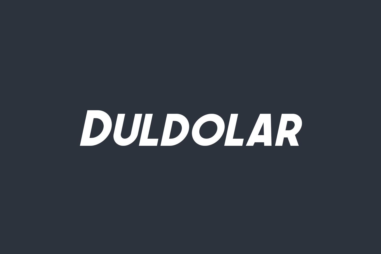 Duldolar Free Font