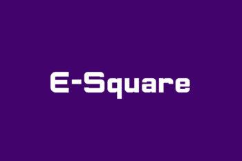 E-Square Free Font