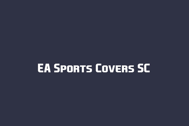EA Sports Covers SC Free Font
